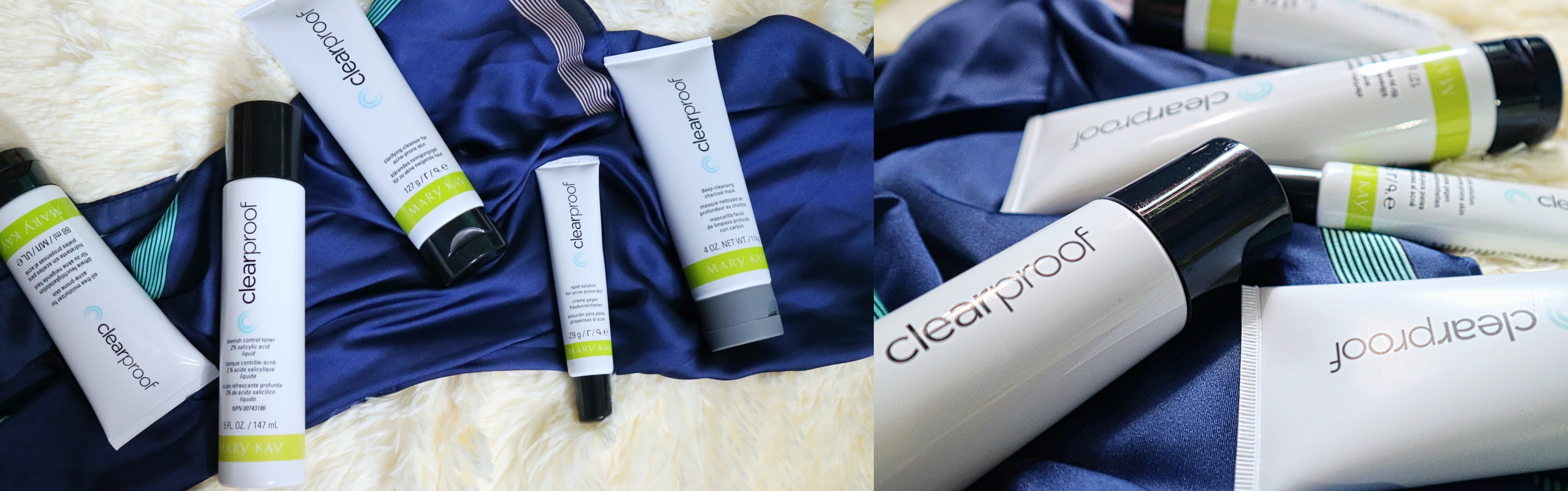 MARY KAY CLEAR PROOF ACNE SYSTEM SET